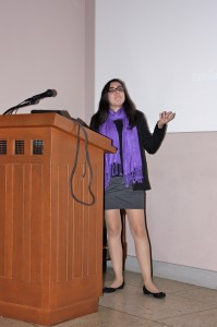 """Estella de Souza of Bryn Mawr College presents her research """"Using Kepler Data to Identify Possible Atmospheric Features in Exoplanets"""" done at Wesleyan under the direction of Seth Redfield."""