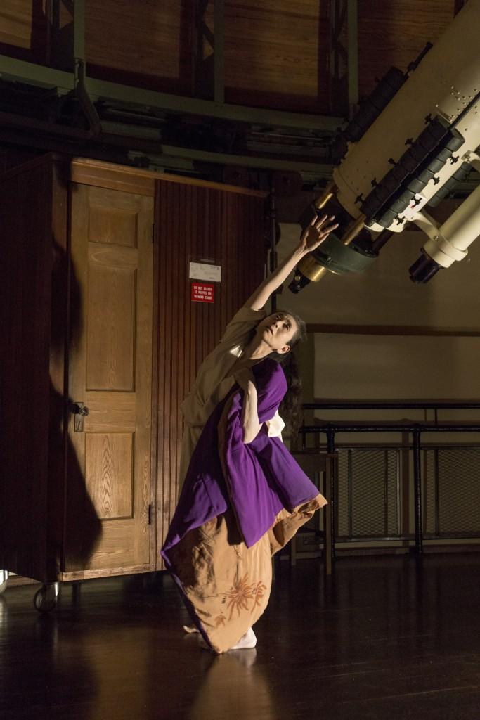 Eiko at Van Vleck Observatory_110515_0414 Photo by William Johnston