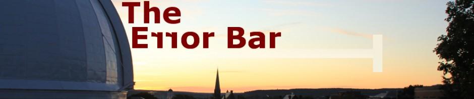 The Error Bar