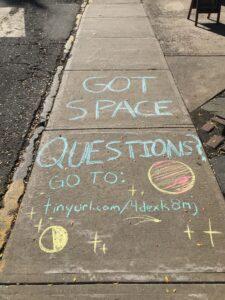 Got space questions?