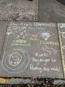 Does it rain diamonds on Neptune?